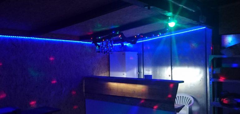 Barrenovierung zum Clubfest am 23.Juli